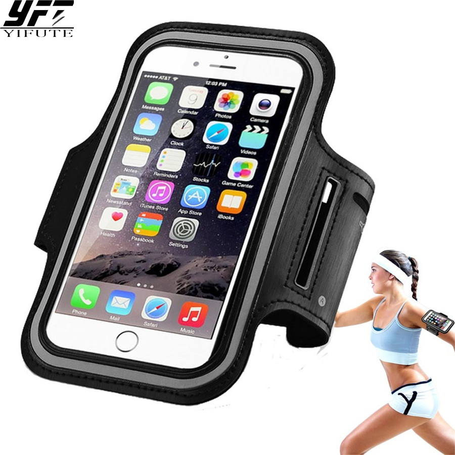 Universal Sports Arm Band Case for Apple iPhone 6Plus 7Plus 8 Running Fitness Phone bag Arm Band Gym Outdoor Activity case Cover