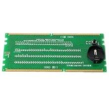 DDR2 i DDR3 2 w 1 podświetlany Tester ze światłem na płyta główna pulpitu