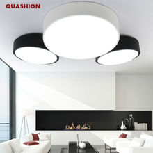 Modern DIY minimalist LED ceiling lamp round bedroom lamp living room lamp creative personality study dining room balcony lamp