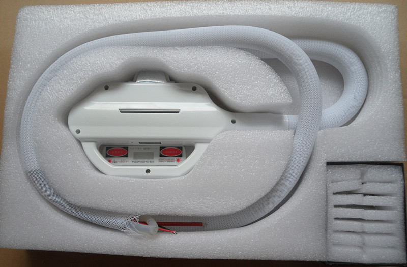 Accessoire pour pièces de poignée de machine laser ipl avec lampe à l'intérieur et 3 filtres pcs