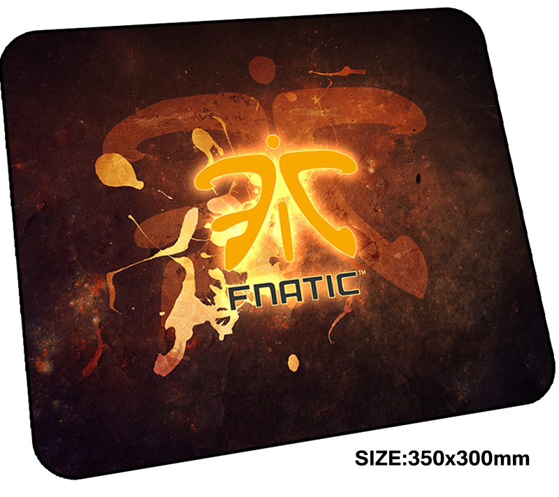 fnatic mousepad gamer 350x300x3mm gaming mouse pad cute notebook pc accessories laptop p ...