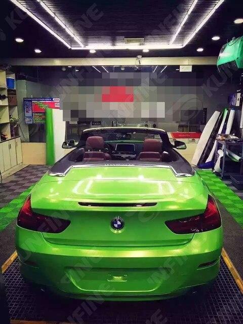 Car Styling Wrap Diamond Glitter Green Car Vinyl film Body Sticker Car Wrap With Air Free Bubble For Vehiche1.52*20M/Roll