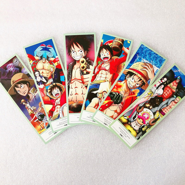 One Piece Marcapáginas de Papel (36 piezas/set)