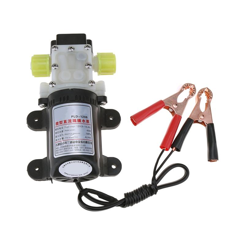 45W 12V Electric 12V Oil Pump Diesel Fuel Oil Engine Oil Extractor Transfer Set Professional Methanol Diesel Suction Oil Pump цена и фото