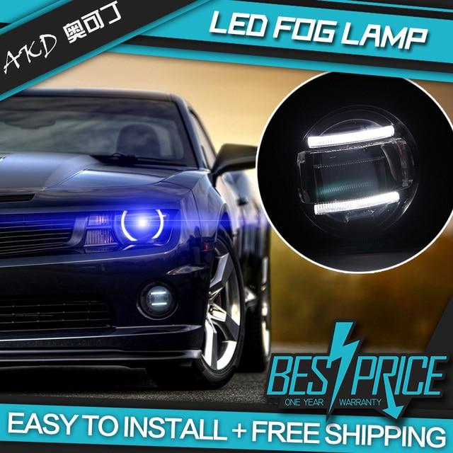 AKD Car Styling For Nissan Pathfinder LED Fog Lamp FOG Lights DRL Daytime  Running Lights 5000K