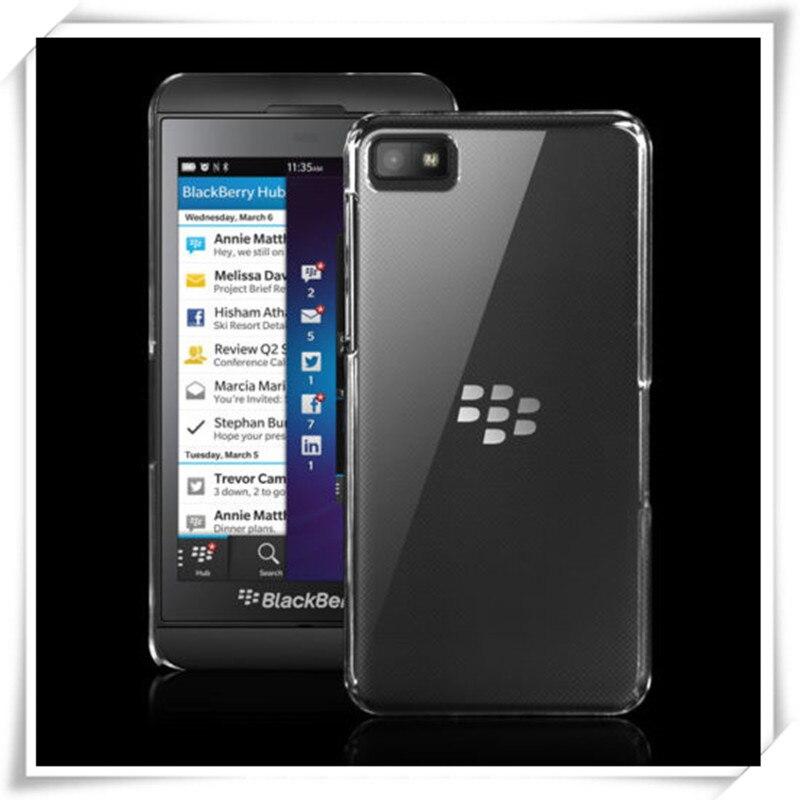 Slim Crystal Clear Transparent Hard Plastic Back Case Cover For BlackBerry Z10
