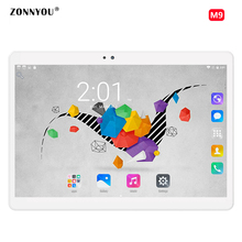 10.1 Inch Tablet Android 6.0 Original 3G Phone Call Octa Core Tablet pcs 32GB ROM 4GB RAM WiFi FM Bluetooth Nice Tablets 9.6