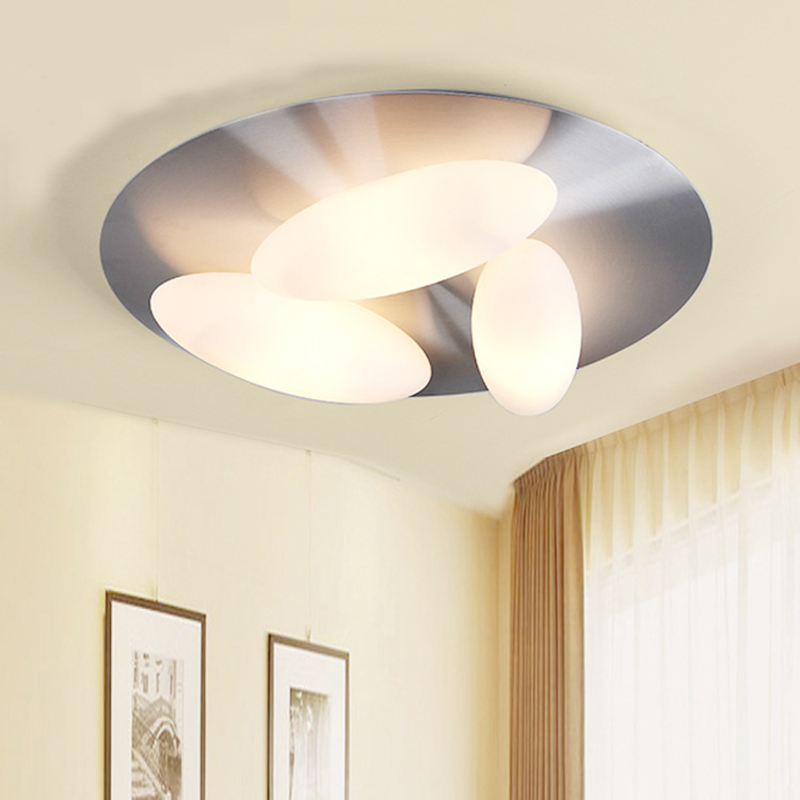 Modern ceiling lights glass egg design 5 heads living room bedroom aluminum kitchen lamp luces del techo ceiling lighting алла алиция хшановская таро интерпретация