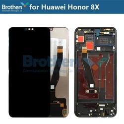 Pour Huawei Honor 8X d'affichage à CRISTAUX LIQUIDES D'écran D'AFFICHAGE À CRISTAUX LIQUIDES D'affichage pour Honor8X Assemblage LCD View 10 Lite JSN-L21 JSN-L22 JSN-L23 Écran Tactile Numériseur