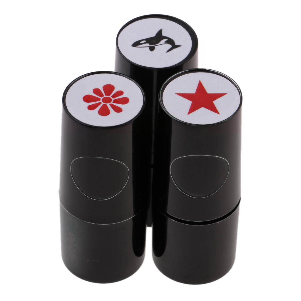 Long Lasting Golf Ball Stamper Marker Stamp Whale Star Flower Shape For Golfer Learner Club Giveaways Prize Bonus Souvenir