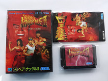 MD Game : Bare knuckle 2 ( Japan Version!! box+manual+cartridge!! )