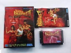 Image 1 - Md 게임: bare knuckle 2 (일본 버전!! 상자 + 수동 + 카트리지!!)