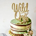 Первая фотография, дикий Топпер для торта на день рождения, для ребенка в подарок, уникальный Топпер для торта