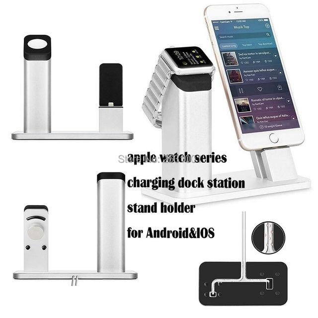 Зарядное устройство для Док-Станции Стенд Держатель для iphone 7 6 6 s 5S Автомобиля стиль Зарядки Apple Quick Быстрое Зарядное Устройство Часы Tablet Кронштейн крепление