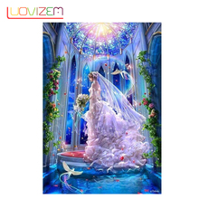 Christmas Decoration For Home Diamond Painting Beautiful Bride Stick  Bedroom Living Room
