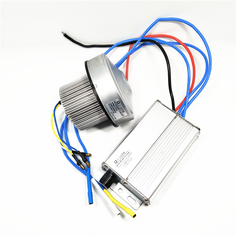 12V Air Suction Brushless DC Centrifugal Motor internal drivs