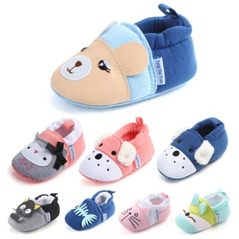 Baby Shoes Girls Boy First Walkers Newborn Slippers Baby Girl Crib Shoes Footwear Booties 0-18M 1