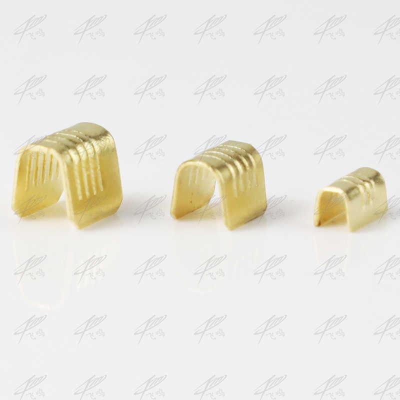 100 pçs/lote dj454a dj454b dj454c guia terminal em forma de u inserções frias conectores/conector terminal cabo/fio cabo lug 1-2mm2