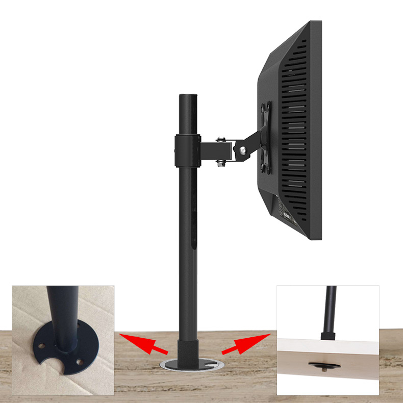 Charming Aliexpress.com : Buy Desktop LCD LED Monitor Holder Table Grommet TV Mount  Bracket From Reliable Tv Mount Bracket Suppliers On Easy Living