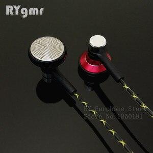 Image 3 - RY04 オリジナル in 耳イヤホン金属 15 ミリメートル音楽音質 HIFI イヤホン (IE800 スタイルケーブル) 3.5 ミリメートルステレオインナーイヤー型ヘッドフォン