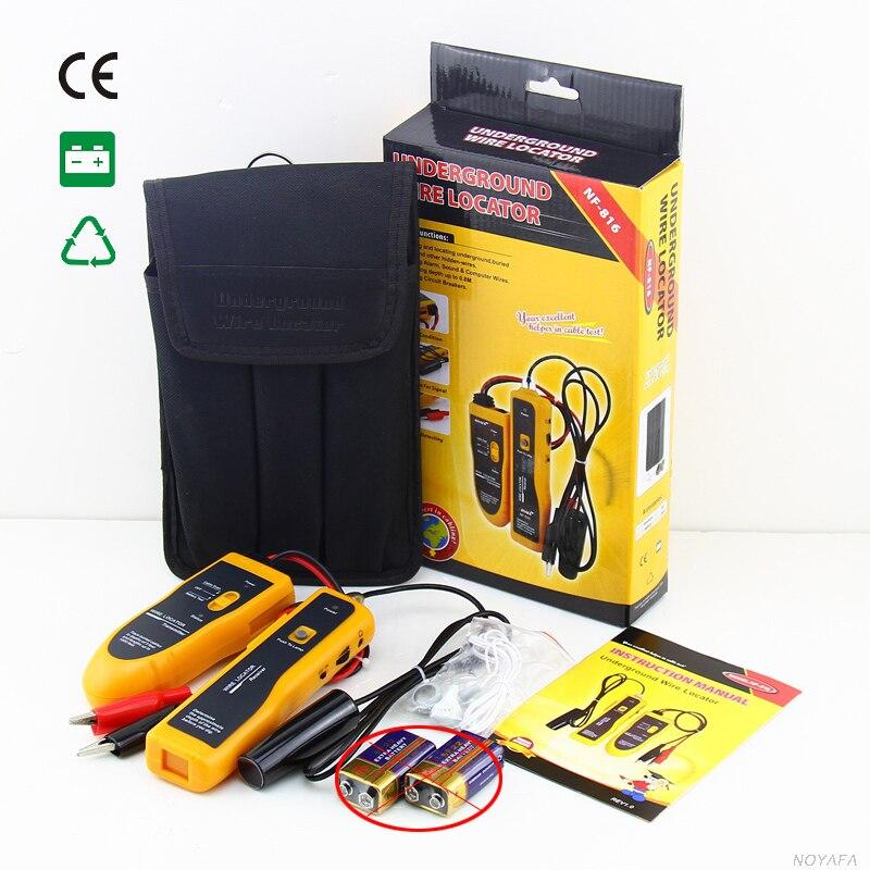 NF-816 RJ11 RJ45 Cat5 Cat6 haute puissance téléphone souterrain Ethernet UTP FTP LAN réseau câble fil Tracker testeur Finder NF_816