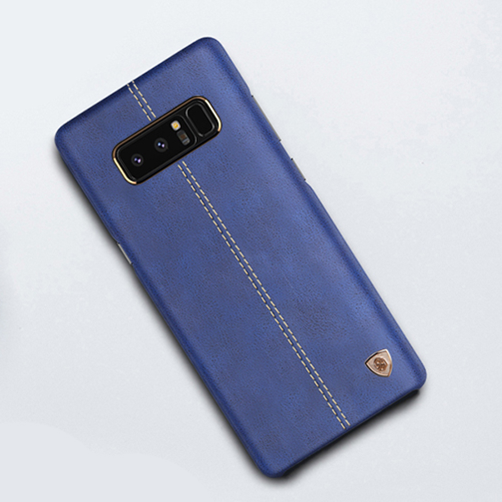 For Samsung Galaxy Note 7 8 Fe Case Original Nillkin Englon Leather Cases Dual Sim Phone Back Cover V In Fitted From Cellphones