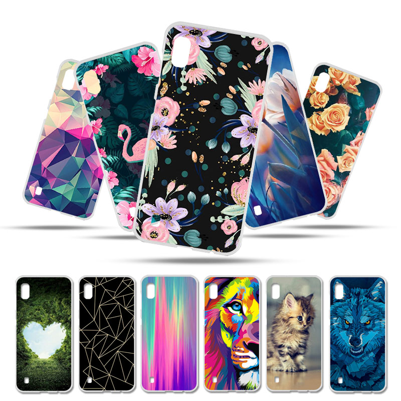 4b39af3d462 Bolomboy Painted Case For Samsung Galaxy A10 Cover Silicone Soft TPU Cases