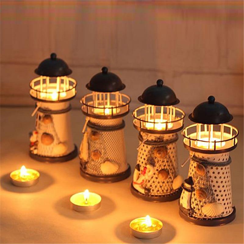 Hanging Candle Lanterns Flower Tower Lantern Wedding: Lantern Candle Holder Vintage Mediterranean Style Iron