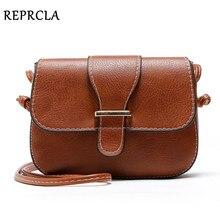 REPRCLA New Arrivals Women Bags Small Vintage Shoulder Bag Pu Leather Women Messenger Bags Crossbody Designer Ladies Bag