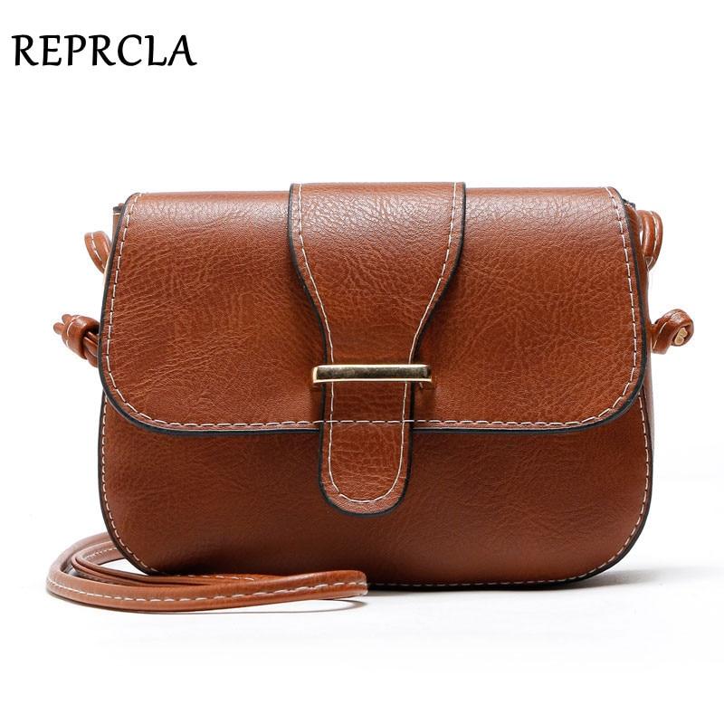 REPRCLA Νέες Αφίξεις Γυναικείες τσάντες Μικρές τσάντες ώμου τσαντών Pu Leather Women Messenger Τσάντες Crossbody Designer Ladies τσάντα