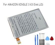 """Nueva Original de 6 """" ED060SC7 ( LF ) C1 pantalla LCD de la e-tinta para Amazon Kindle 3 K3 Ebook Reader ( gran cantidad en la acción ) envío gratis"""