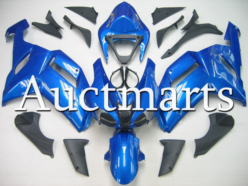 Fit for kawasaki ZX-6R 2007-2008 high quality ABS Plastic motorcycle Fairing Kit Bodywork ZX6R 07-08 ZX 6R CB21 hot sales popular cowling for zx 6r 07 08 kawasaki ninja zx636 zx 6r 636 zx6r 2007 2008 nakano body fairings injection molding