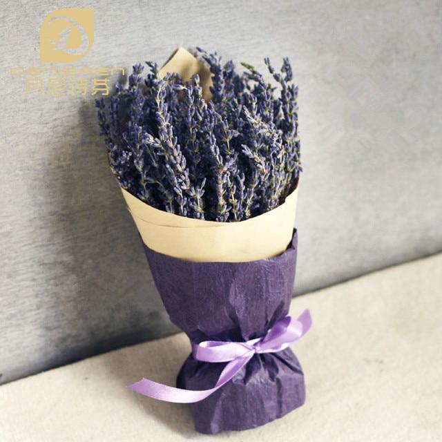Aliexpress Com Denisfen Natural Dried Flowers Long Ear Uk Blue Lavender Bouquet Arrangements Diy Home Wedding Decoration Dfl1022 Free Shipping From