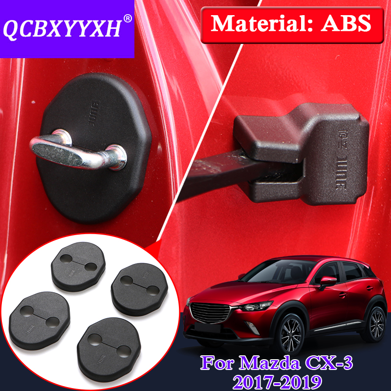 2019 Mazda Cx 3: QCBXYYXH Car Styling Door Check Arm Protection Cover For