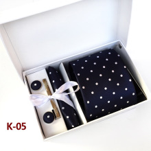 Tie, Handkerchief, Pin and Cufflinks Gift Box