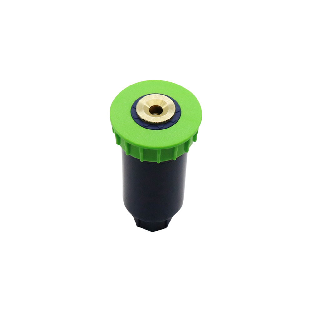 "90-360 Degree Pop Up Sprinklers Plastic Lawn Watering Sprinkler Head Adjustable Garden Spray Nozzle 1/2"" Female Thread 1 Pc"