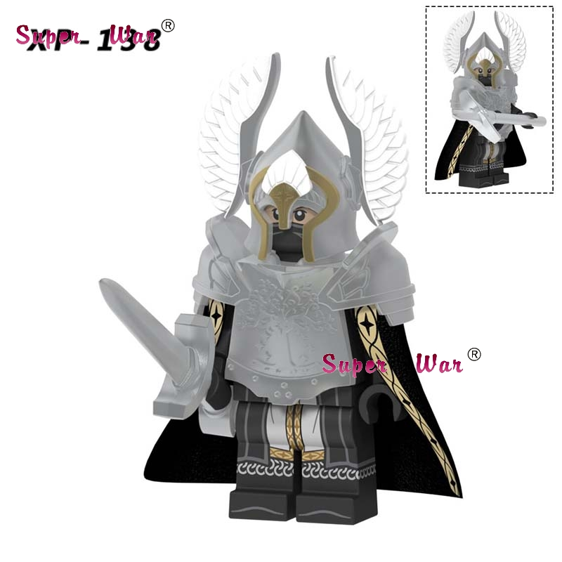 Single Gondor Fountain Guard Sword Lancers Game Of Thrones Action  Medieval Archers Series Building Blocks Toys