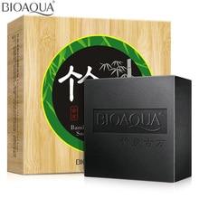 Глубокое масло-контроль умывания очищение bamboo акне эфирное уголь мыло волосами отбеливание