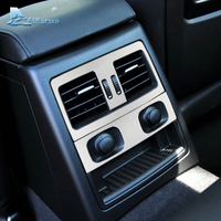 Airspeed Aluminum Alloy Car Rear Air Conditioning Outlet Panel Frame Trim Decoration For BMW E90 3