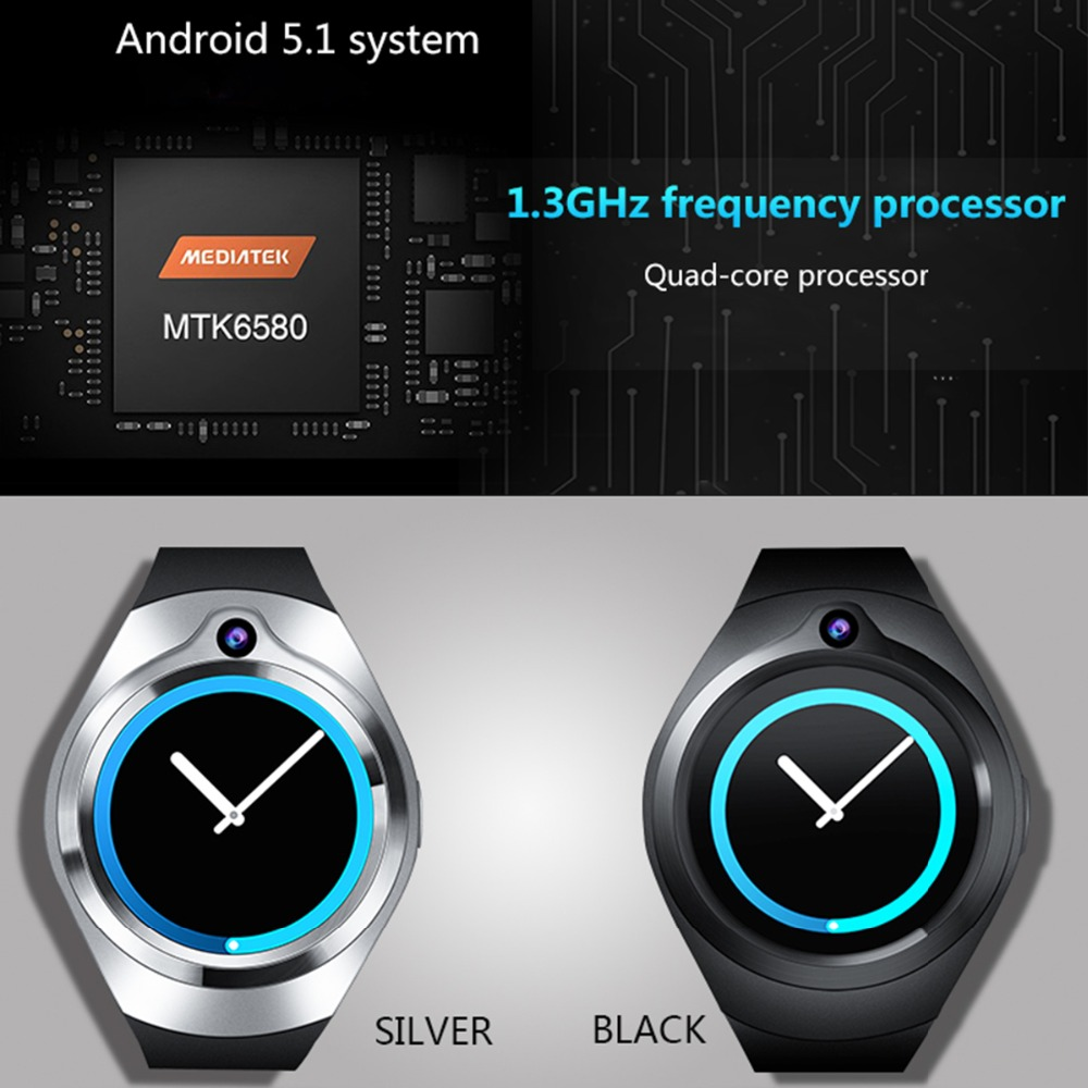 ZGPAX S216 Smart watch PK S99C Android 5.1 Heart Rate relogios support Bluetooth WiFi GPS smartwatch MP3 player for Android iOS