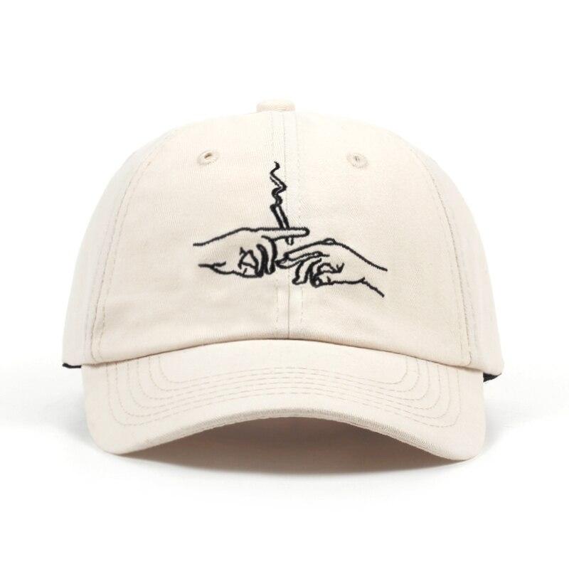 2018 nueva llegada de la manera sombreros del papá fumar bordado gorra de  béisbol unisex ajustable algodón snapback sombrero mujeres hombres casual  caps en ... e82717ce264