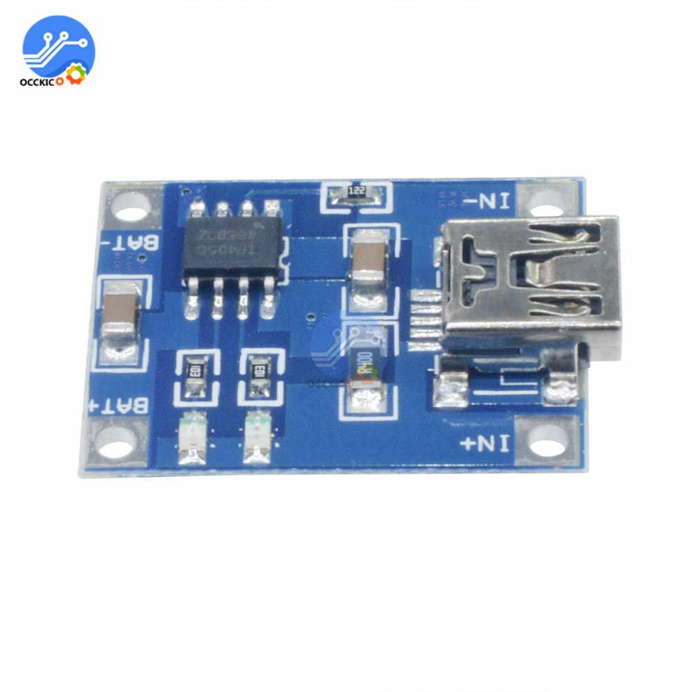 BMS 5V 1A 18650 Pin Lithium Sạc Ban TP4056 Mini/Micro USB Sạc Điện Với Chức Năng Bảo Vệ