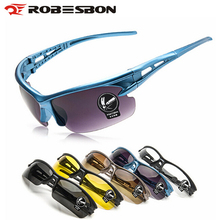 ROBESBON Leisure Sunglasses Bicycle Cycling Eyewear Men Women Outdoor Sport Goggles Driving Fishing Hiking UV400 Glasses