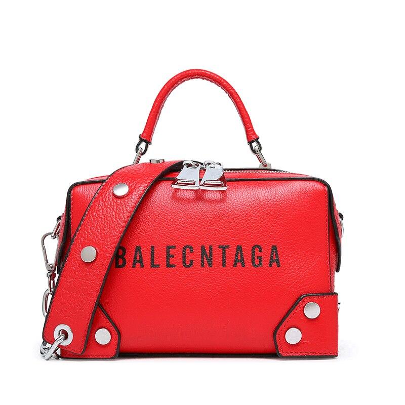 cow leather Messenger Bag brand handbag 2019 new women 100 genuine leather small shoulder bag