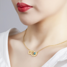 BOBIGIULAI Brand Stainless Steel Necklace For Women Fashion Jewelry Chain Heart-shaped Choker Pendant Friendship Necklaces Gift women silver luxury 316l stainless steel necklace fashion cross heart chain pendant jewelry accessories friendship necklace