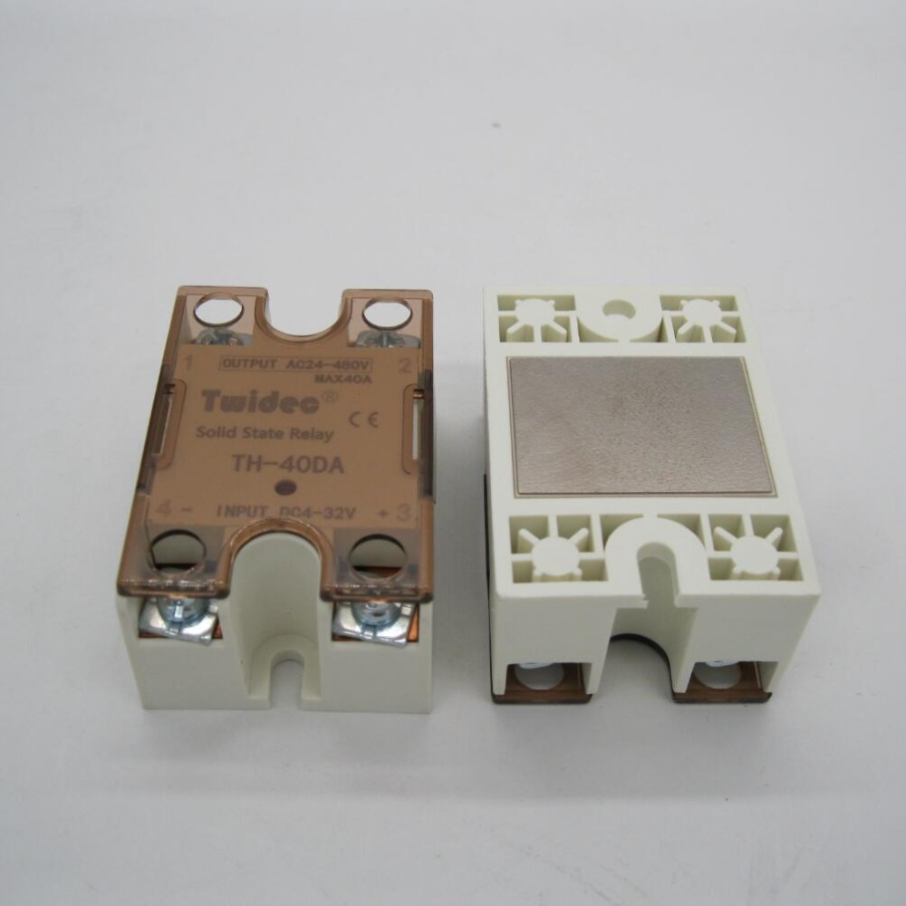 Ssr 40da Dc Ac 40a Single Phase Solid State Relays 220v Output 3 Relay Schematic 32v To 24 480 V Module Switch In From Home