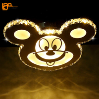 New Cartoon Design LED Ceiling Light Crystal Ceiling Lamp Modern LED Fixture Children Bedroom Lamp