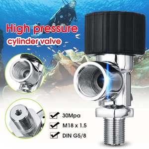 PCP дайвинг клапан M18x1.5 30Mpa воздушная АЗС Заправка Адаптер для углеродного волокна кислородный цилиндр