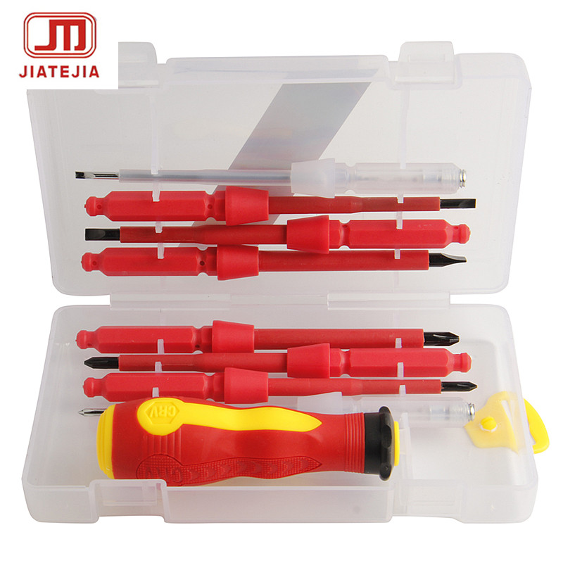compare prices on electricians screwdriver set online shopping buy low price. Black Bedroom Furniture Sets. Home Design Ideas