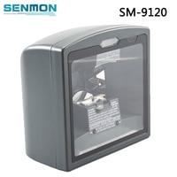 Best Quality 1D Laser Omni direction Desktop Barcode Scanner Flatbed Bar Code Scanner for Supermarket